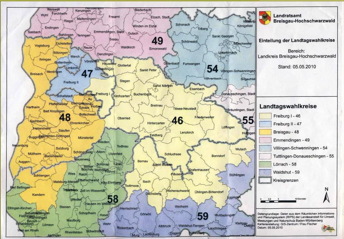 Wahlkreis Freiburg I