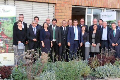 Forstreform - 1. Sitzung des Lenkungsausschuss