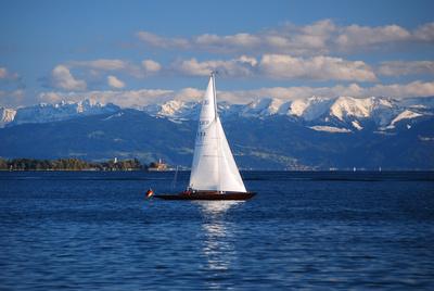 Bodensee Segelboot